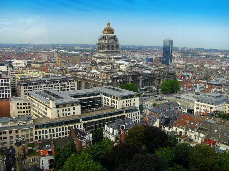 Brussels- City view