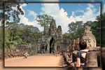 Title: Angkor Thom 2Canon EOS 7 D