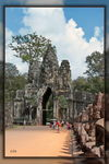 Title: Angkor Thom 3Canon EOS 7 D