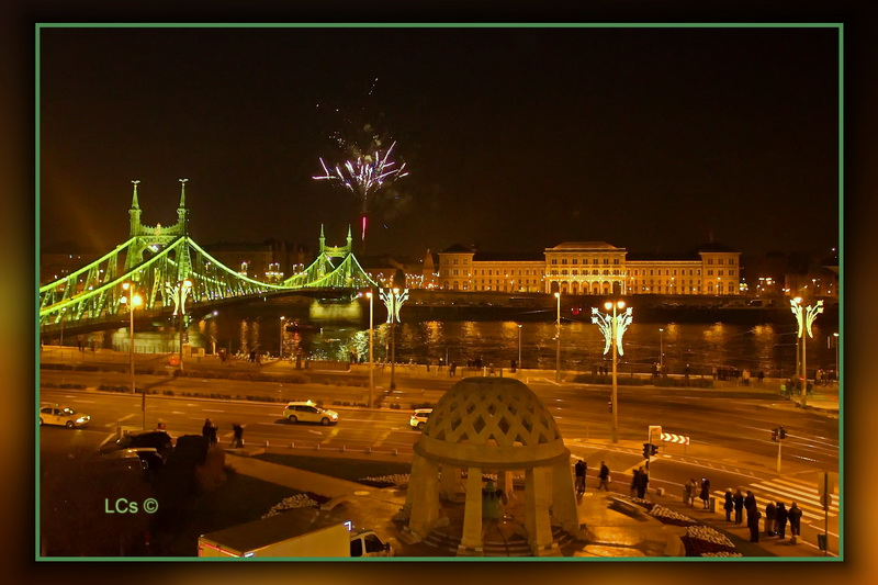 New year Budapest 2
