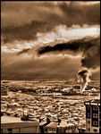 Title: Global Warming in Sepia