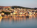 Title: A view of Mytilene