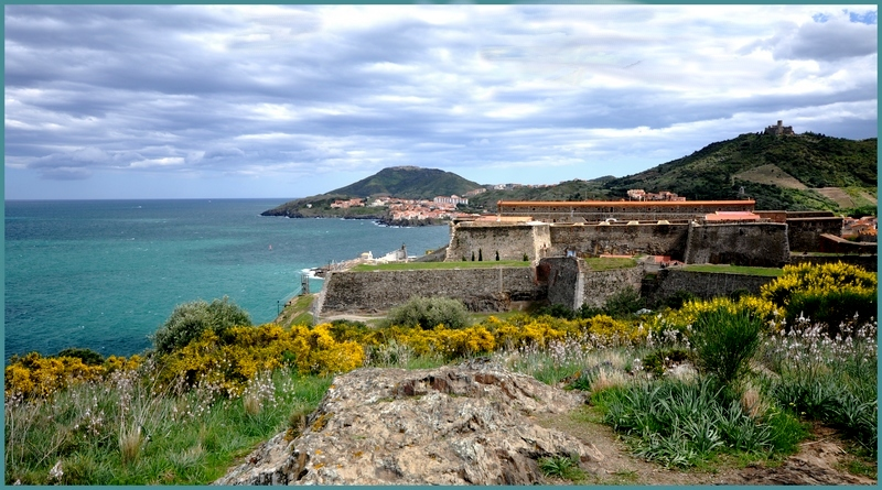 Collioure viewed from the north