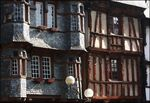 Title: timbered housesMinolta Dimage A2