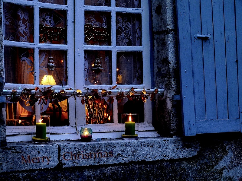 A window for Christmas