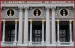 Title: Facade of the Paris Opera