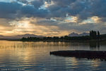 Title: Dusk at Lago RosarioNikon D80