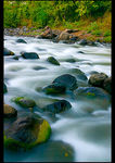 Title: white water flow