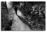 Title: I walk this lonely road.....