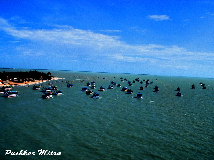 Boats in Gulf of Mannar