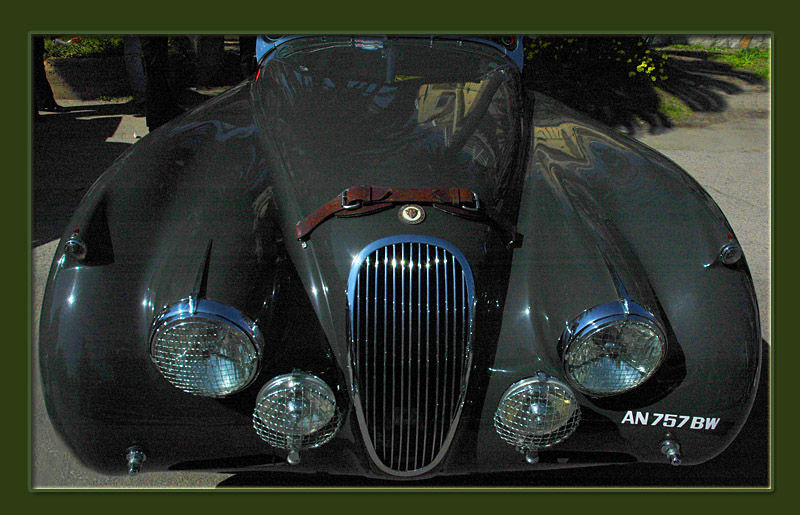 The Jaguar XK120