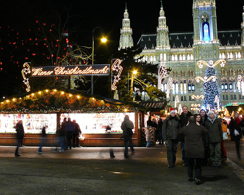 Christmas holiday in Vienna