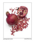 Title: Pomegranate with seeds