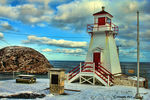 Title: Cold Lighthouse