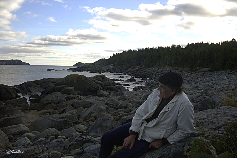 A Thinker at Tinkers Point