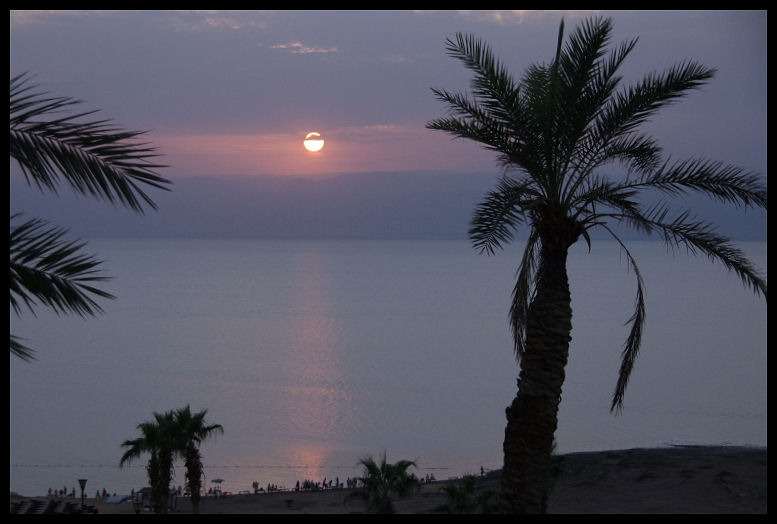 Evening on the Dead Sea