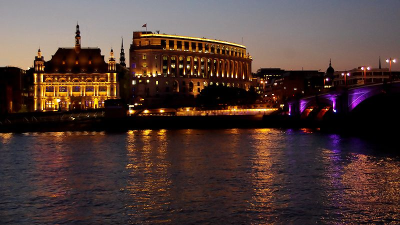 Night on the Thames