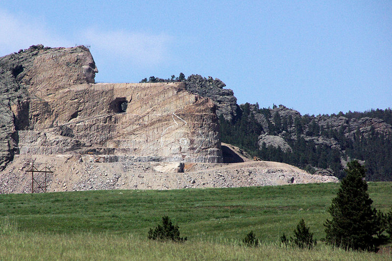 Crazy Horse Monument Finish Date crazy horse memorial [114] pointing ...