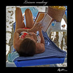 Title: Leisure Reading - Friday themeFujifilm Finepix S9600