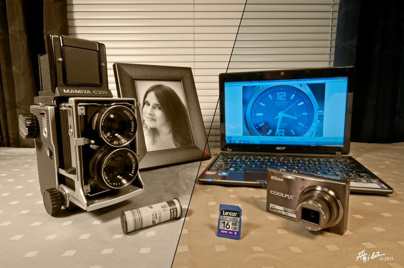 Friday theme: Old/New Photography