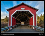 Title: St-Mathieu covered bridge