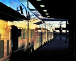 Title: .early morning train