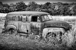 Title: Abandoned in Black and WhiteNikon D7000