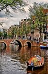 Title: Canal in Amsterdam