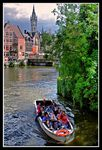 Title: Boat ride in the Canals of Ghent