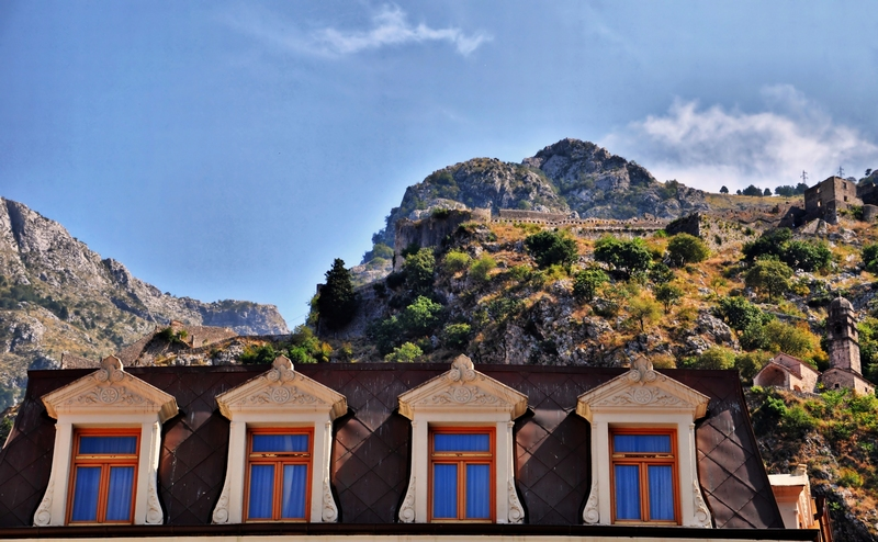 The ramparts of Kotor