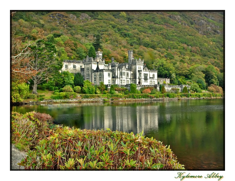 Kylemore Abbey in Autumn