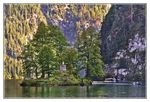 Title: Islet in Lake K�nigssee