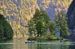 Title: Boat ride on Lake Konigssee