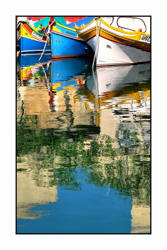 Prows in Reflection