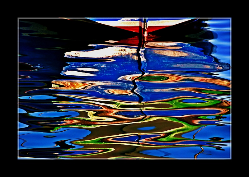 Psychedelic reflection