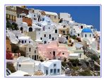 Title: The colors of Santorini