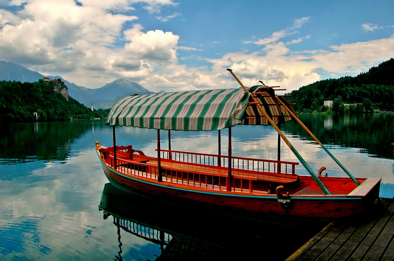 Tranquility in Lake Bled