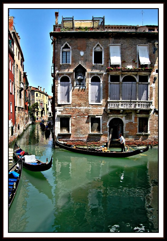 Through the Canals of Venice
