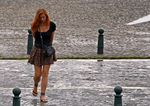 Title: Wet look in the street