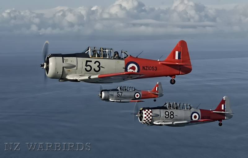 Harvards on the Starboard Wing