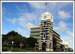 Title: New Plymouth Clock TowerNikon D-70s