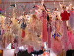 Title: dolls hanging from the ceiling
