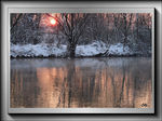 Title: Silvery pink reflections