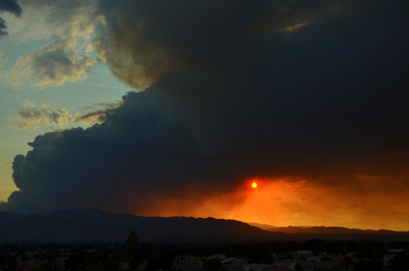 Las Vegas On Fire 1 Year Ago Today