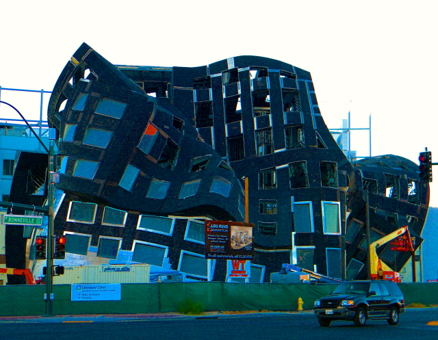 A Frank Gehry Under Construction