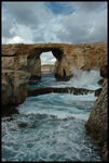 Title: Azure window and blue hole