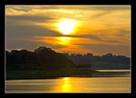 Title: Sunset at Bedok Reservoir