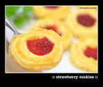 Title: Strawberry CookiesNikon D40X dSLR