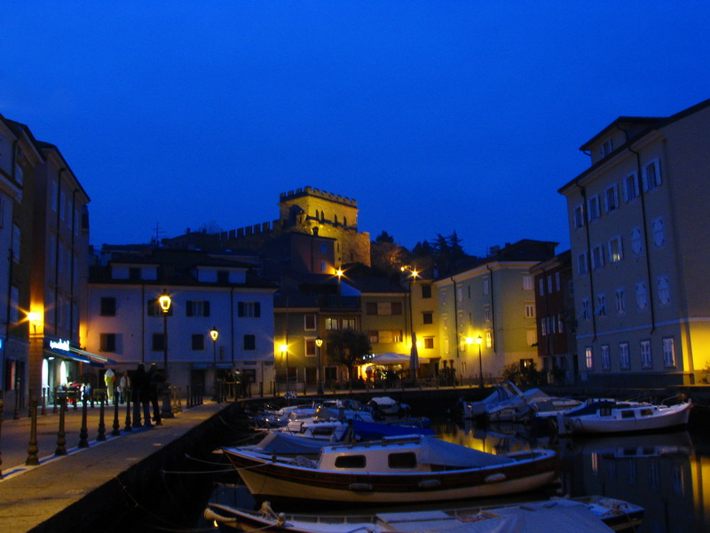 One evening in Muggia