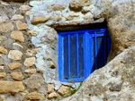 Title: the blue window